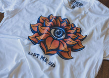 """Lotus"" Unisex T-Shirt - Lift Me Up - Hand Drawn Patches Pins and Apparel"