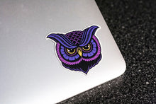 """Owl"" Vinyl Sticker - Lift Me Up - Hand Drawn Patches Pins and Apparel"