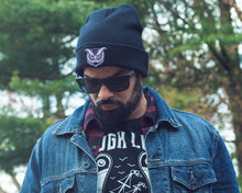 """Owl"" Knit Beanie (Purple Variant) - Lift Me Up Apparel"