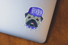 """Rotten"" Vinyl Sticker - Lift Me Up - Hand Drawn Patches Pins and Apparel"