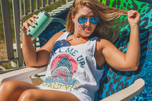 """Salty"" Unisex Tank Top - Lift Me Up - Hand Drawn Patches Pins and Apparel"