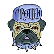 """Rotten"" Enamel Pin - Lift Me Up - Hand Drawn Patches Pins and Apparel"
