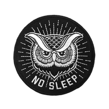 """No Sleep"" Patch - Lift Me Up - Hand Drawn Patches Pins and Apparel"
