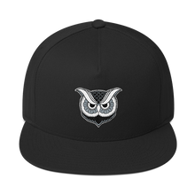 """Owl"" Snapback - Lift Me Up - Hand Drawn Patches Pins and Apparel"