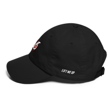 """Owl"" Dad Cap (Red Varient) - Lift Me Up Apparel"