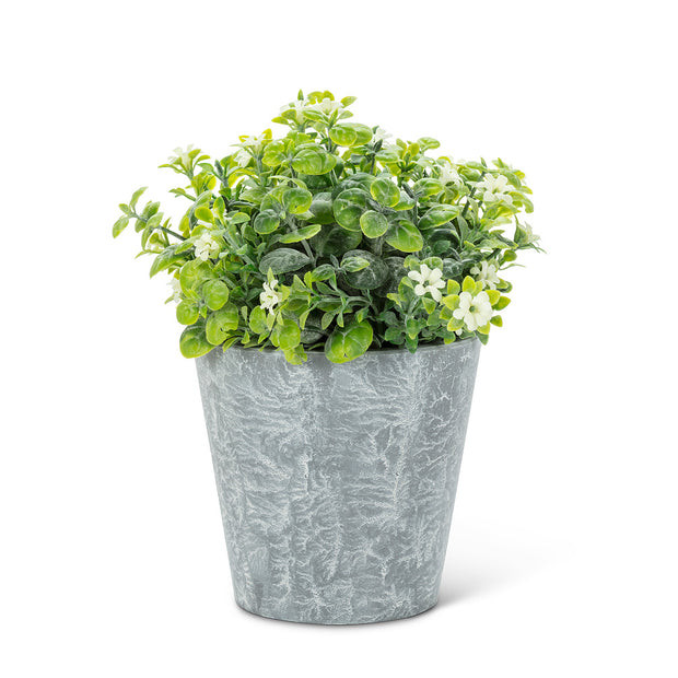 Plante artificielle en pot