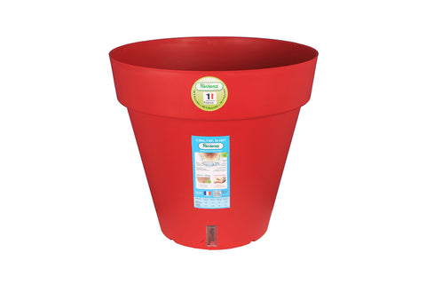 Pot Loft rond rouge