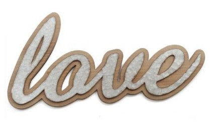 "Plaque murale ""LOVE"""