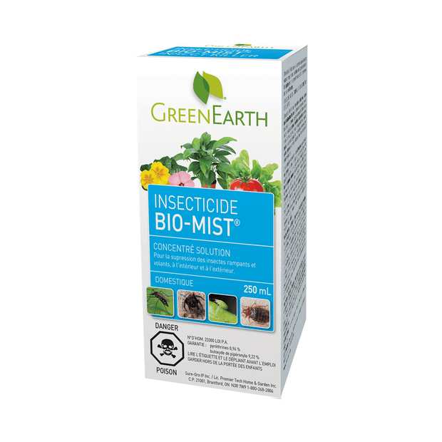 Insecticide Bio-mist concentré Green Earth