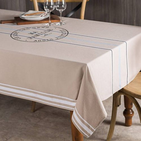 "Nappe Chambray ""Ma famille"""