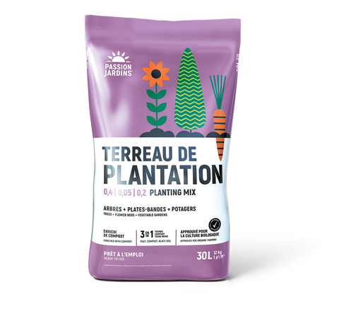 "Terreau de plantation ""Passion Jardins"""
