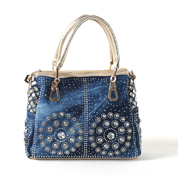 Sac Denim Bijoux - Lookamor