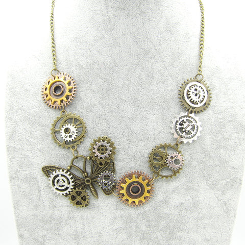 Collier Steampunk N°7 - Lookamor