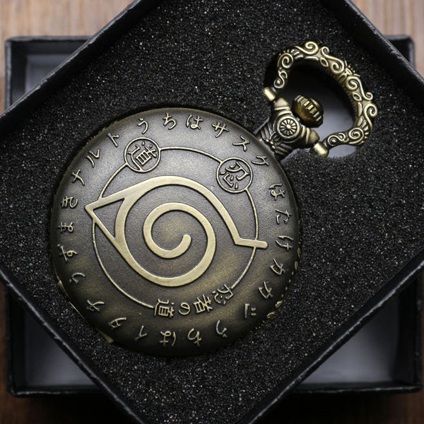 Montre Gousset Naruto Japan - Lookamor