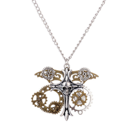 Collier Steampunk N°8 - Lookamor