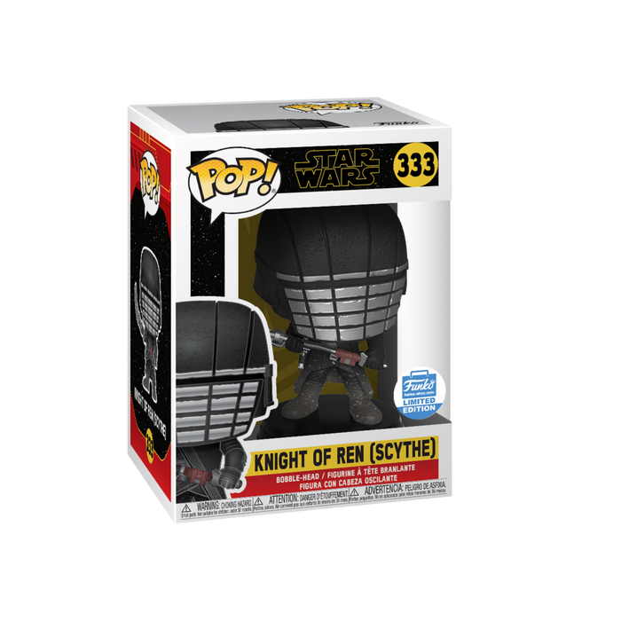Funko Pop! Star Wars: Rise of The Skywalker - Knights of Ren Scythe Exclusive Vinyl Figure - Characters Co