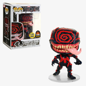 Funko Marvel Venom Pop! Corrupted Venom Glow-in-the-Dark L.A. Comic Con Exclusive - Characters Co