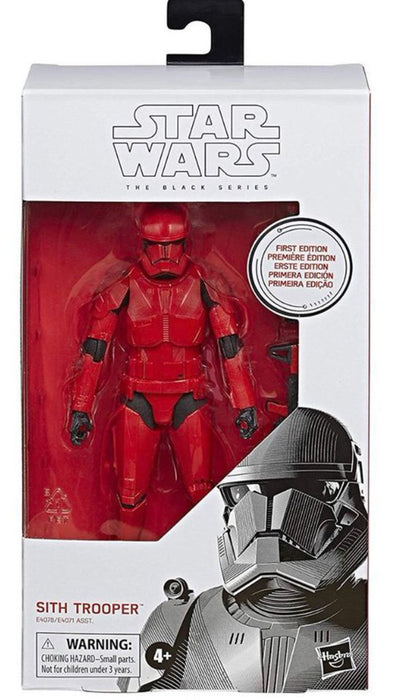 Star Wars Rise of Skywalker - First Edition Sith Trooper Action Figure - Characters Co