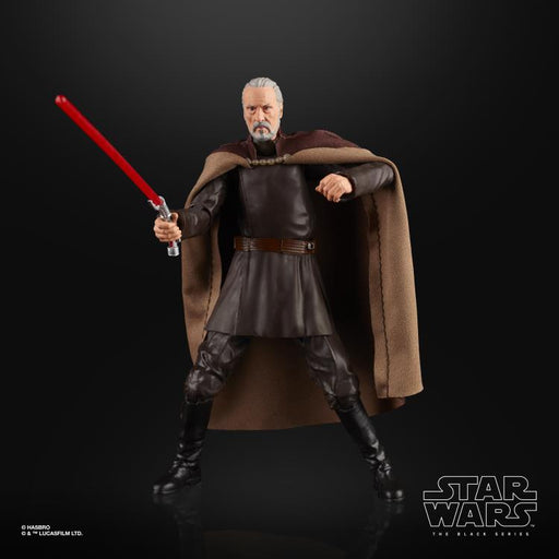 "Star Wars Attack of the Clones - Black Series Count Dooku 6"" Action Figure (Pre-Order) - Characters Co"