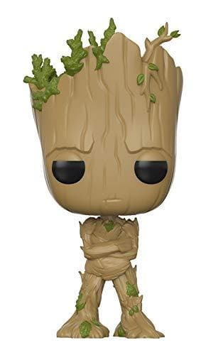 Adolescent Groot Amazon Exclusive Funko Pop! Movies: Guardians of The Galaxy Vinyl Figure - Characters Co