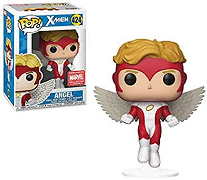 Funko Pop! Marvel - Angel X-Men Exclusive Collector Coprs Vinyl Figure - Characters Co