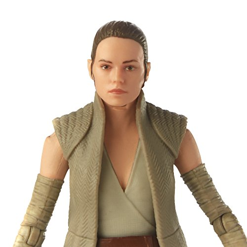 "Star Wars The Last Jedi - Black Series Rey (Island Journey) 6"" Action Figure - Characters Co"