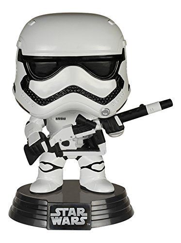 Funko Pop Star Wars - Heavy Artillery First Order Stormtrooper Amazon Exclusive Vinyl Figure - CharactersCo.com