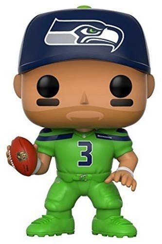 Funko POP NFL: Russell Wilson (Seahawks Color Rush) Vinyl Figure - Characters Co