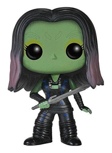 Funko POP Marvel: Guardians of The Galaxy - Gamora Vinyl Bobble-Head Figure - Characters Co