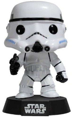 Funko Pop! Star Wars - Stormtrooper Vaulted Blue Box Vinyl Figure - Characters Co