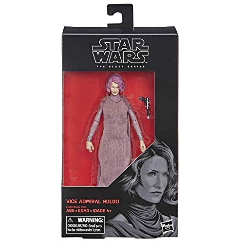 Star Wars The Last Jedi - Black Series Vice Admiral Holdo Action Figure - Characters Co