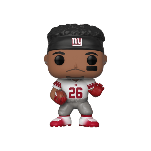Funko Pop! NFL Saquon Barkley New York Giants Fanatics Exclusive Vinyl Figure - Characters Co