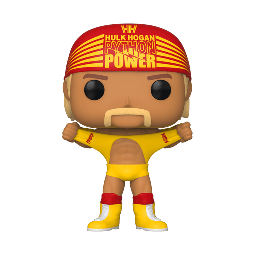 Hulk Hogan Funko Pop! WWE Hulkamania Exclusive Vinyl Figure - Characters Co