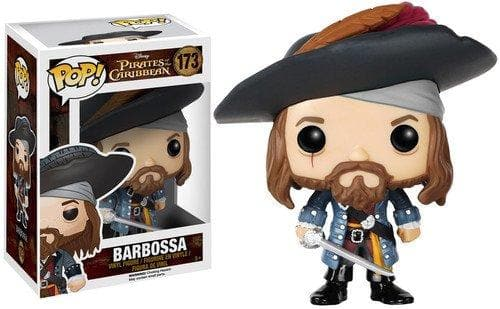 Barbossa Funko Pop! Disney - Pirates of the Caribbean Vinyl Figure - CharactersCo.com
