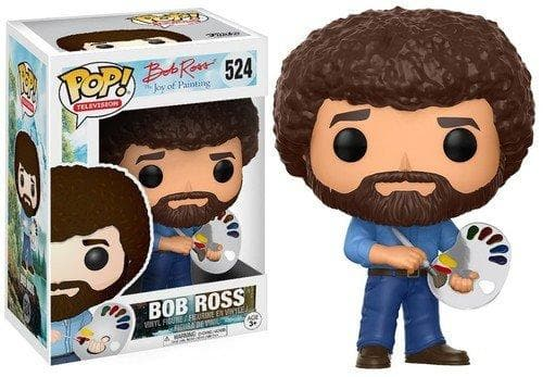 Funko Pop! Television: Bob Ross - Bob Ross Collectible Figure - Characters Co