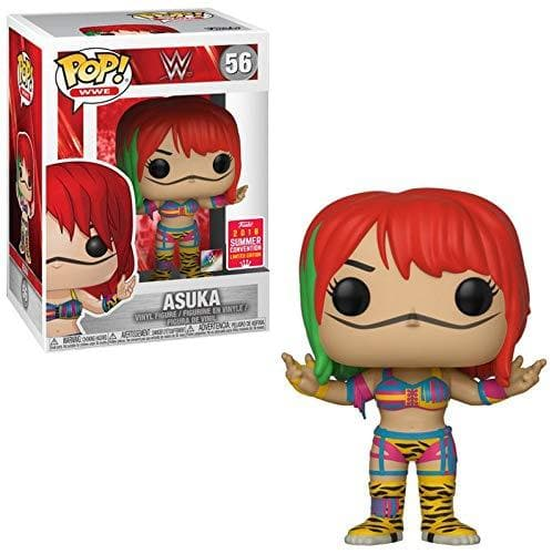 Funko Pop! WWE - Asuka #56 SDCC Exclusive 2018 Summer Convention Vinyl Figure - Characters Co