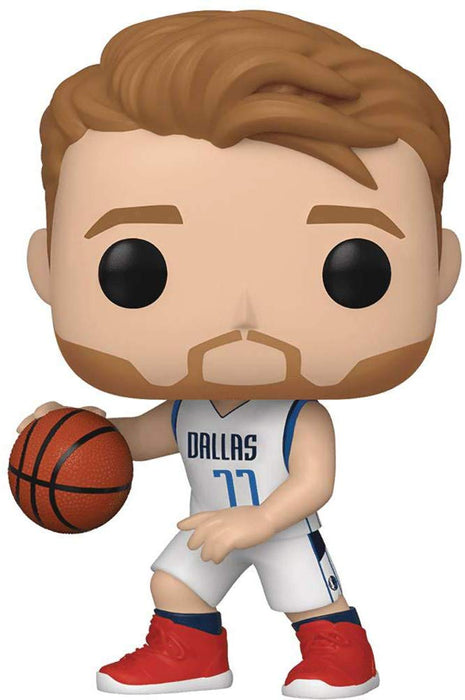 Funko Pop! NBA - Luka Doncic Dallas Mavericks Vinyl Figure - CharactersCo.com