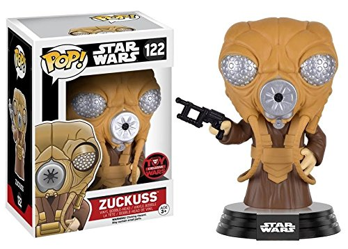 Funko Pop! Star Wars - Zuckuss, Toy Wars Exclusive Vinyl Figure - CharactersCo.com