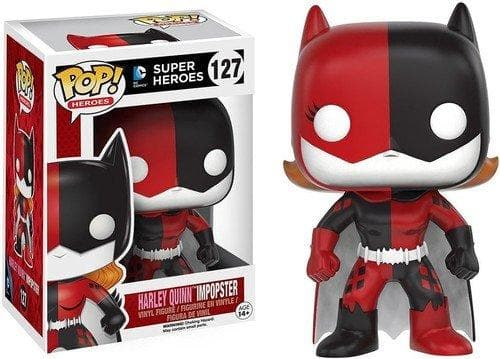 Funko POP Heroes Villains as Batgirl Harley Quinn Action Figure - Characters Co