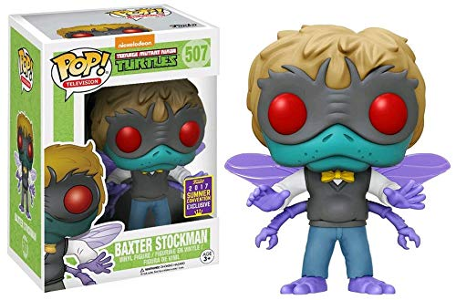 Baxter Stockman Funko Pop! Teenage Mutant Ninja Turtles 2017 SDCC Exclusive Shared Vinyl Figure - CharactersCo.com