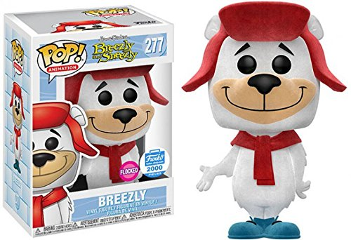Breezly Funko Pop! Animation Breezly and Sneezly Flocked Limited Edition Funko Shop Exclusive Vinyl Figure - CharactersCo.com