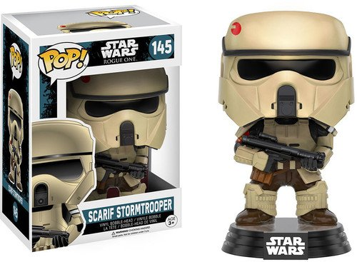 Funko Pop! Star Wars: Rogue One - Scarif Stormtrooper Vinyl Figure - Characters Co
