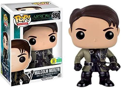 Funko Pop! Television: Arrow - Malcolm Merlyn 2016 SDCC Exclusive Vinyl Figure - Characters Co