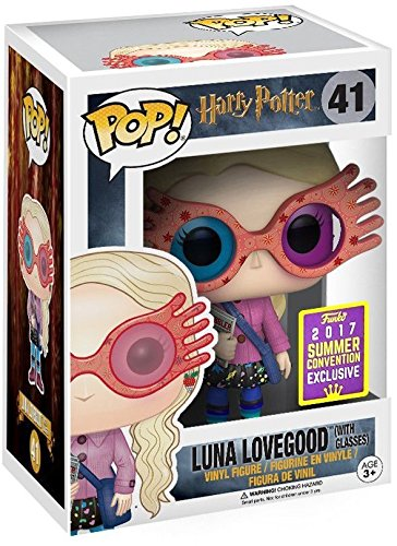 Luna Lovegood With Glasses Funko Pop! Harry Potter 2017 SDCC Exclusive Shared Vinyl Figure - CharactersCo.com