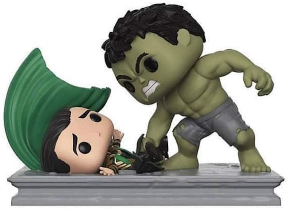 Funko Pop! Movie Moments Marvel Studios: Hulk Smashing Loki Vinyl Figure - Characters Co