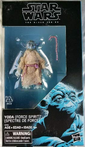 "Star Wars Return of the Jedi - Black Series Spirit Yoda Exclusive 6"" Action Figure - Characters Co"