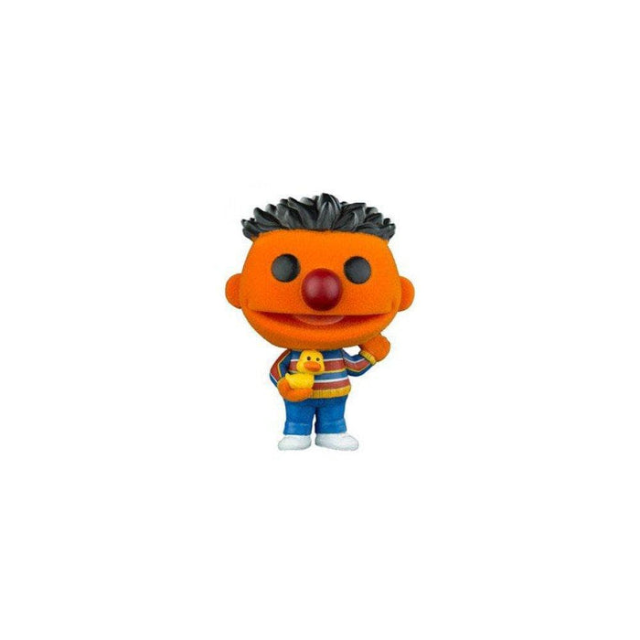 Funko Pop! Sesame Street Ernie, Flocked Barnes and Noble Exclusive Vinyl Figure - CharactersCo.com
