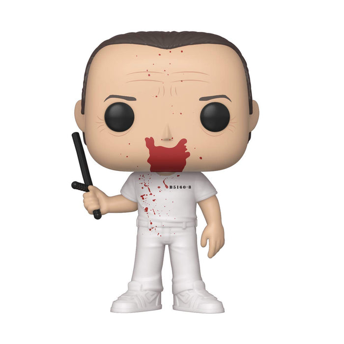 Hannibal Lecter Funko Pop Movies -Silence of The Lamb Bloody Vinyl Figure - Characters Co