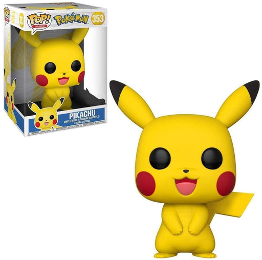 "10"" Pikachu Pokemon Funko Pop! Games, Target Exclusive Vinyl Figure - Characters Co"