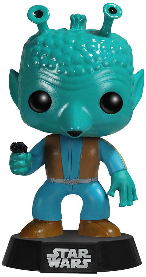 Funko Pop! Star Wars - Greedo Vaulted Edition Vinyl Figure - Characters Co